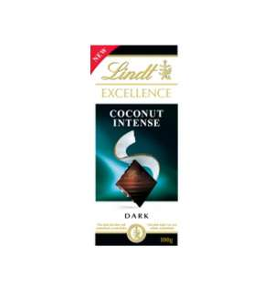 lindt Exellence coconut