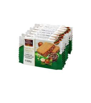 Wafers with cocoa cream