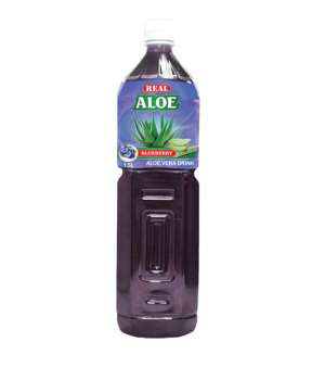 REAL ALOE VERA  BLUEBERRY - 1.5 L.