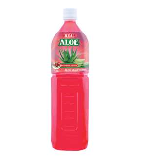 REAL ALOE VERA  POMEGRANATE - 1.5 L.