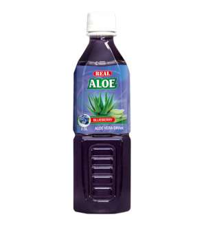 REAL ALOE VERA BLUEBERRY - 0.5L