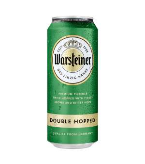 Warsteiner 4,8% Double Hopped кен 0,5л.