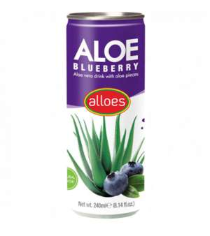 Aloes Aloe Vera Blueberry can