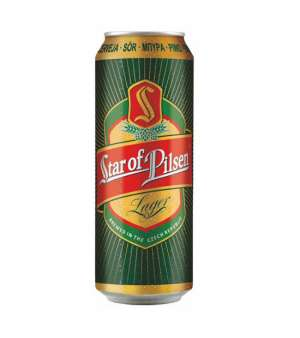 STAR OF PILSEN 4,7% - can