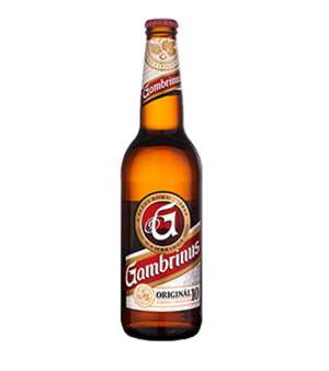 Gambrinus 10° P bottle 0,5L