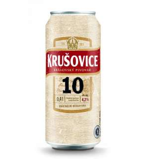 Krusovice 10° P can 0,5L