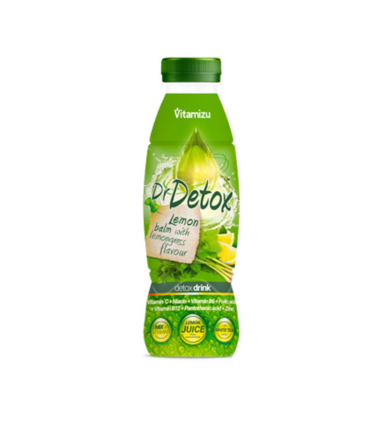 Dr.Detox Lime and Lemongrass 330ml